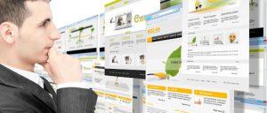 шаблонный дизайн сайта